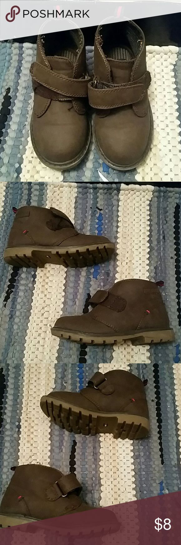 Little boys Tommy Hilfiger boot Great condition little boys Tommy Hilfiger brown boots Tommy Hilfiger Shoes Boots