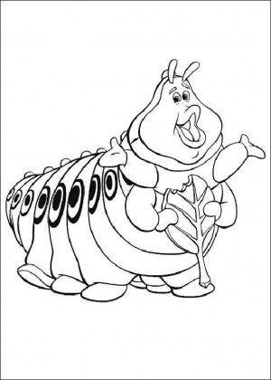 Mejores 20 imágenes de Bugs life coloring book en Pinterest | Bichos ...