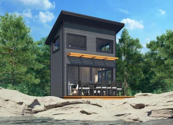 14 Kit Homes You Can Buy And Build Yourself In 2020 Cabin Kit Homes Kit Homes Small Prefab Homes