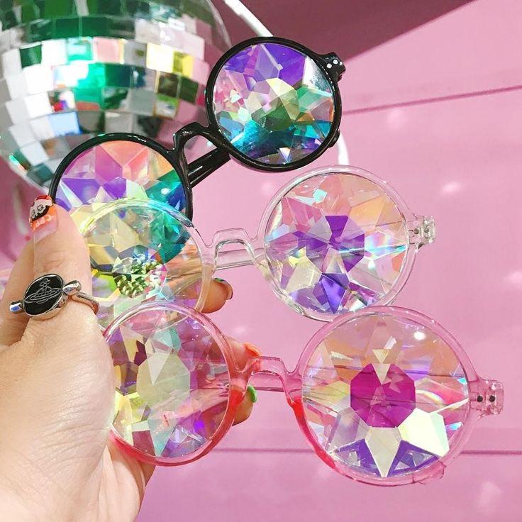 "Harajuku fashion diamond cutting sunglasses SE10185      Coupon code ""cutekawaii"" for 10% off"