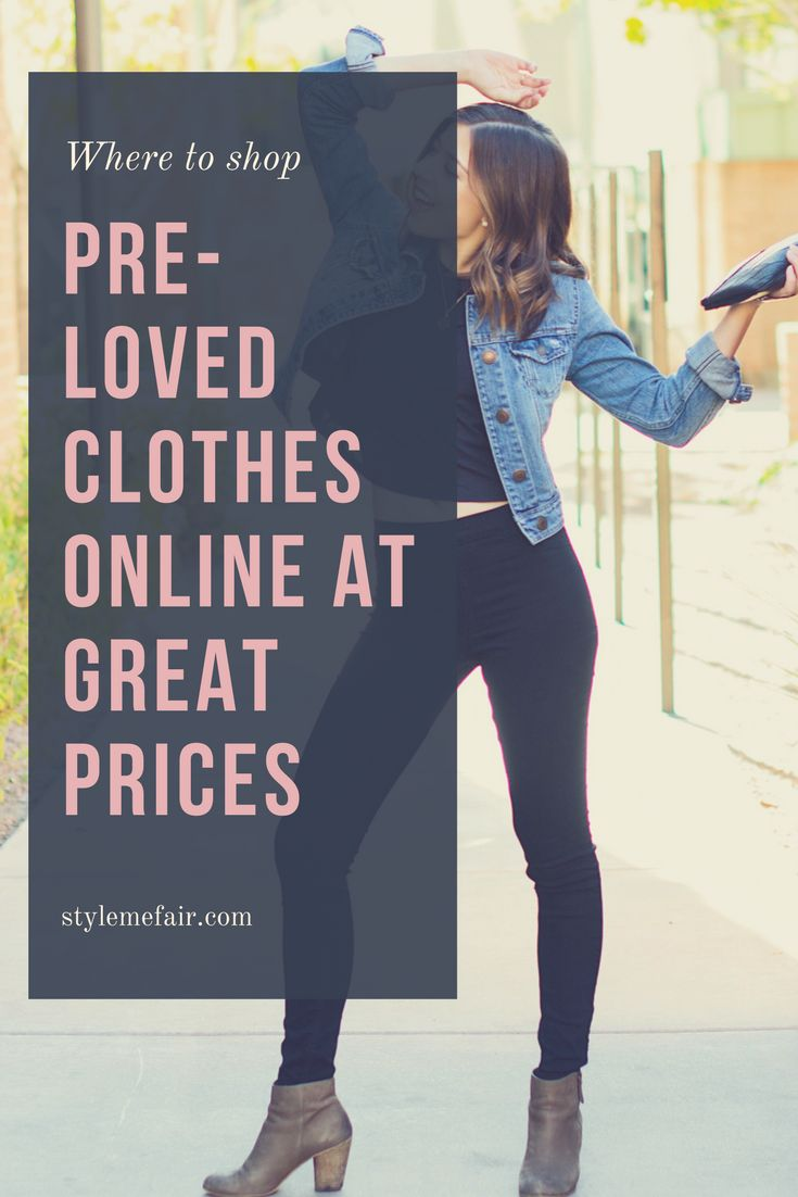 6 of the top websites where you can find designer brands for incredible deals! Shop women and mens thrift clothing online!