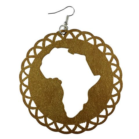 40 best Africa Shaped Earrings images on Pinterest ...