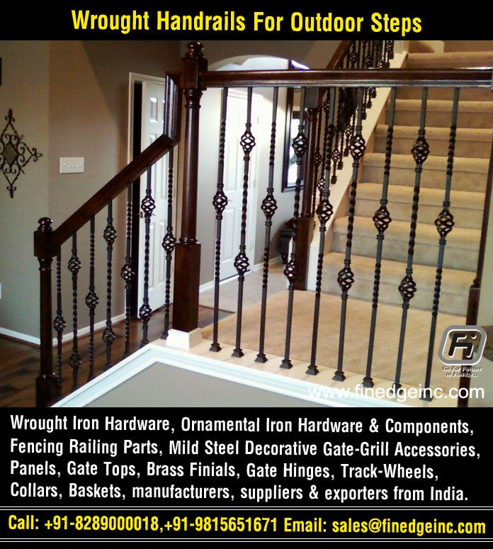 Decorative Wrought Iron And Ornamental Iron Components Fencing Hardware Railing Parts G Wrought Iron Stair Railing Wrought Iron Stairs Wrought Iron Hardware