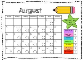 Best 25+ Behavior calendar ideas on Pinterest