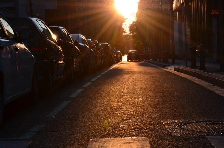 Barcelonian Sunset