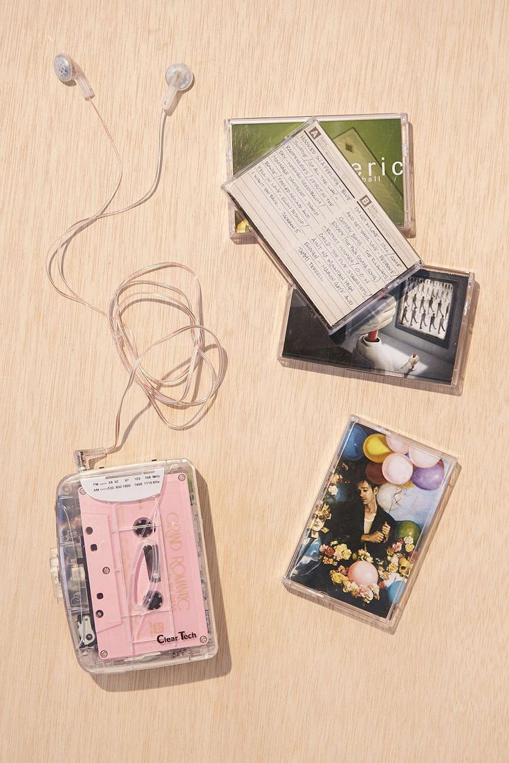 Clear Cassette Player (really just need a cool cassette player)