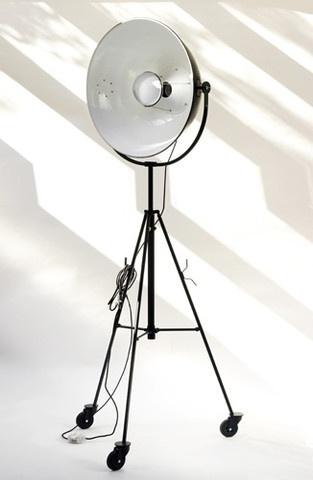 Mariano Fortuny Floor Lamp - Tripod Castors