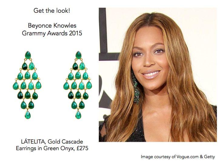 #Beyonce at Grammy Awards 2015. Get her look with LÁTELITA! #LoveLatelita