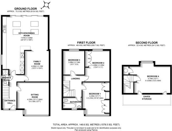Pin by jessica womersley on rear extensions ideas for Extension floor plans