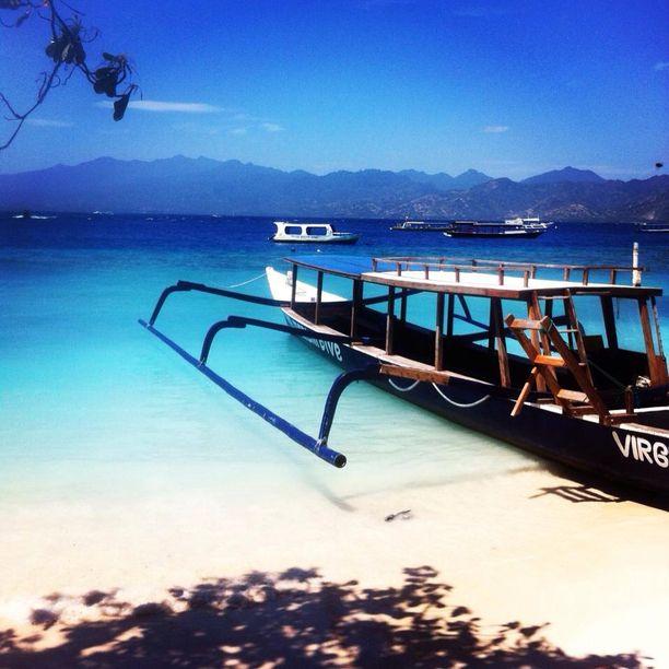Gili Trawangan Island, Pemenang, Indonesia - The Gili Islands,...