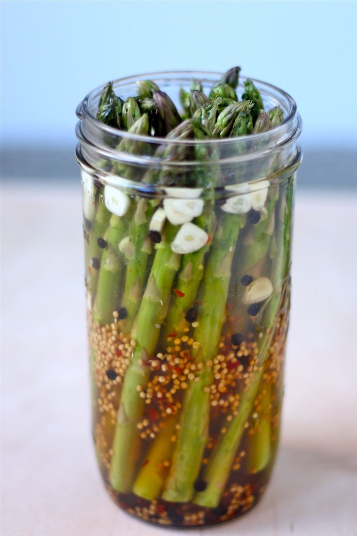 Pickled asparagus, Asparagus and Asparagus recipe on Pinterest