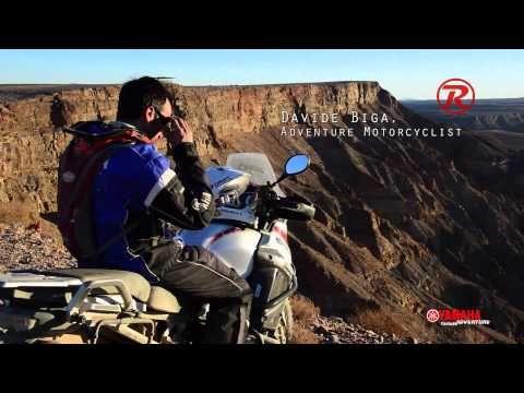 Yamaha Adventures & Raleri with Davide Biga in Namibia