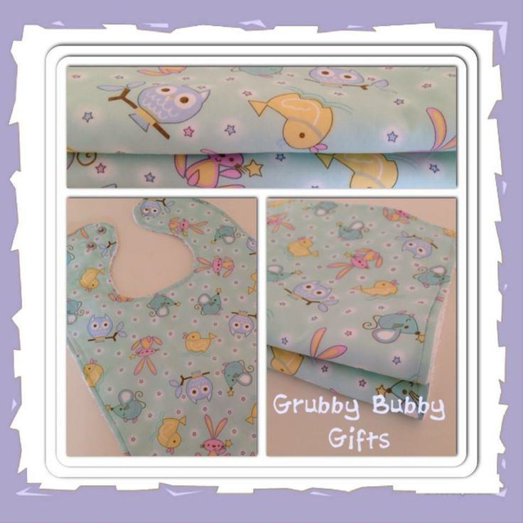 """Large Adjustable Bibs… """"Baby Animals"""" Enchanted Forest Market Night opens at 9pm, on Tuesday 6th May, 2014"""