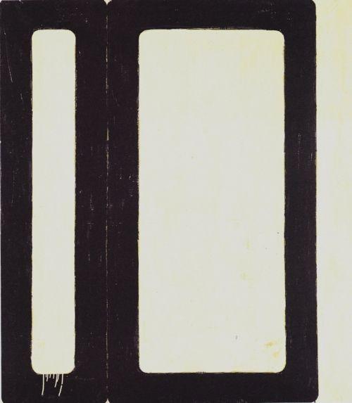 Mario Schifano, Modern Time, 1962.