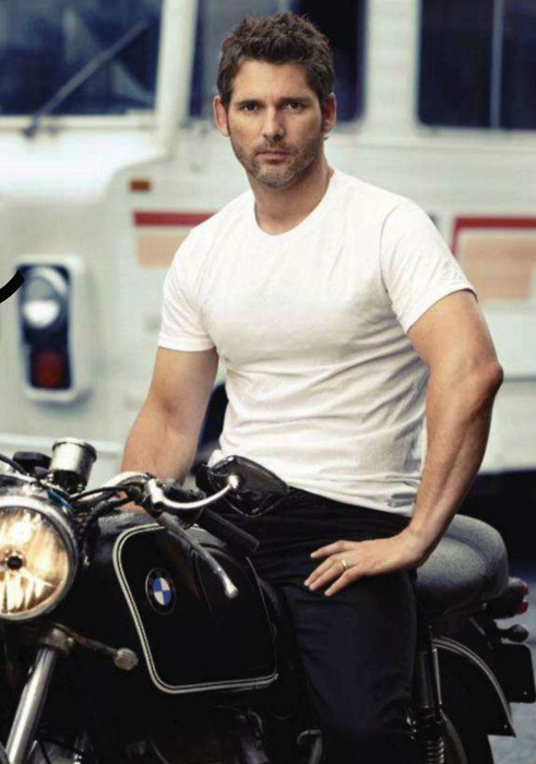 "Eric Bana. Played the king in ""The Other Bolelyn Girl"". I thought he was hot. I'm a sucker for facial hair even though it scratches my face."