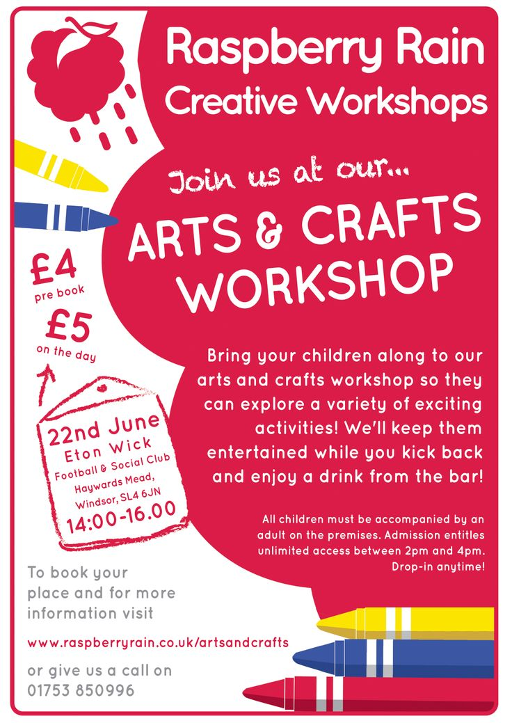 #ArtsandCrafts #Workshop on #Sunday 22nd #June 2014 in #EtonWick #Windsor