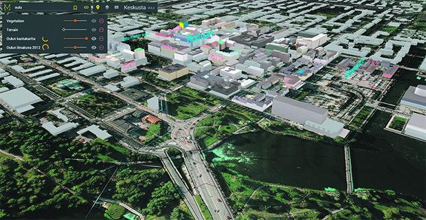3D-mallinnus on viime vuosina mullistanut kaiken suunnittelun ja sitä hyödynnetään paljon muun muassa kaupunkisuunnittelussa.