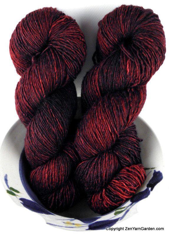 Serenity Silk Single (Fire Red)