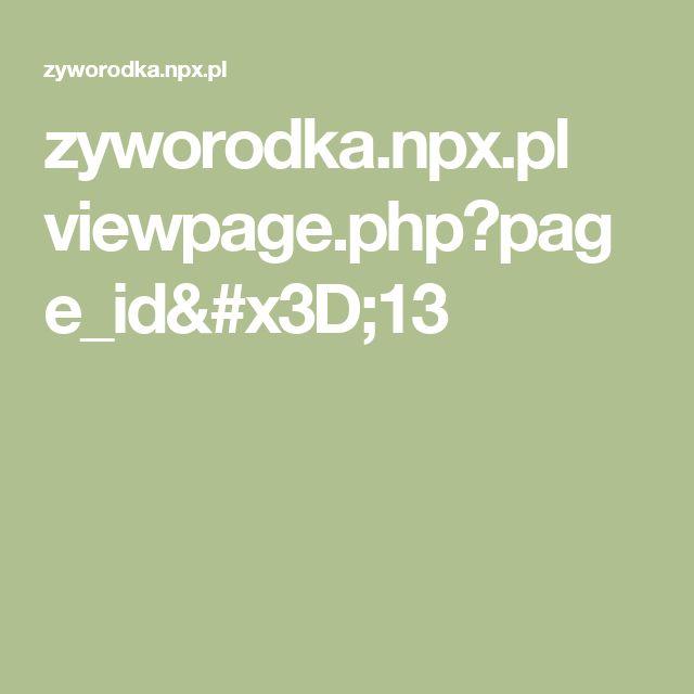 zyworodka.npx.pl viewpage.php?page_id=13