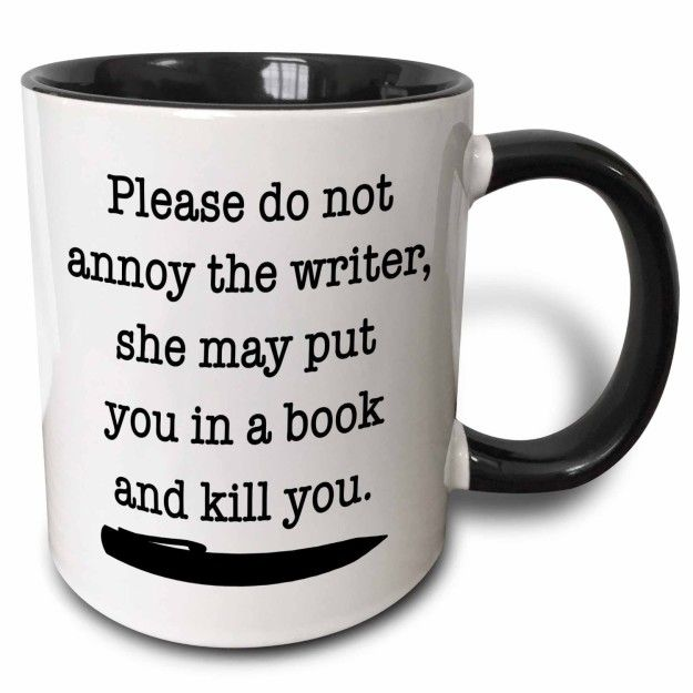 This mug to put in front of your laptop at any given time: