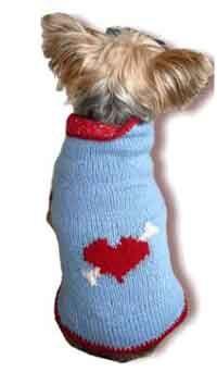 The Boyfriend Valetines Dog Sweater
