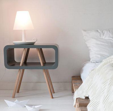 Les 64 meilleures images propos de chambre sur pinterest - Fabriquer une table de chevet ...