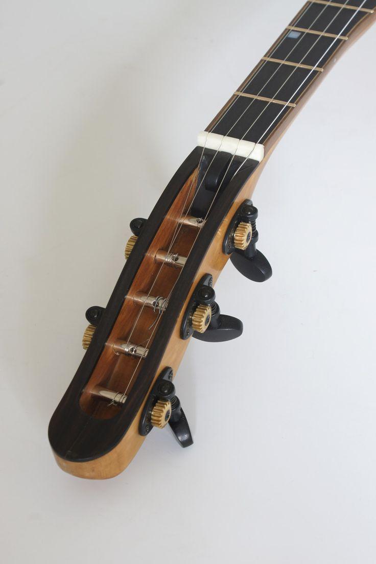 """Weitzel Banjo """"Stevie B"""" 5-string headstock"""