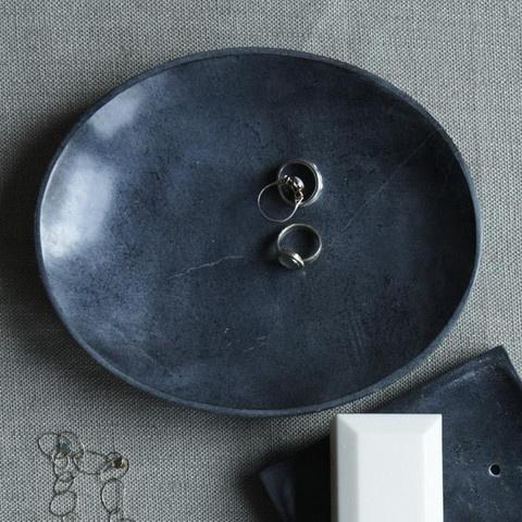Soapstone Shallow Bowl #canvas