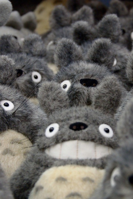 Totoro !  WAAAAA so many @.@  I have one too (・ω・)ノ