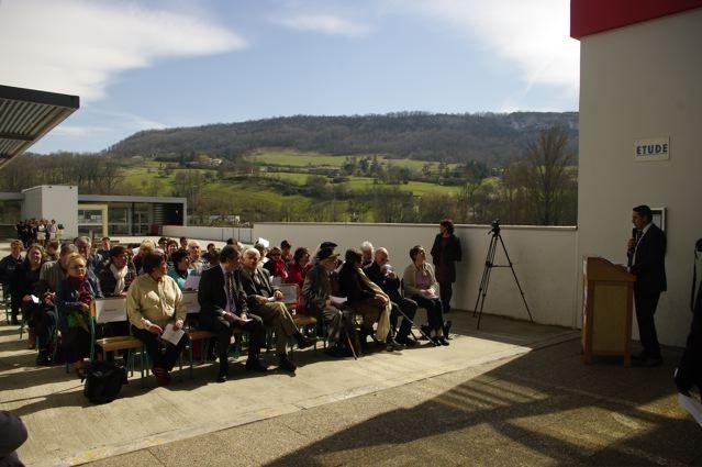 Cérémonie hommage aux anciens combattants sur le thème de la Mémoire et de l'engagement citoyen