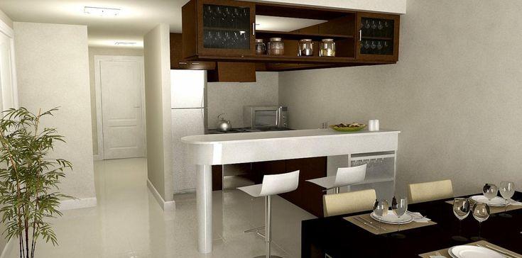 53 best images about cocinas on pinterest modern kitchen cabinets wine racks and en colombia - Modelos de cocinas modernas ...
