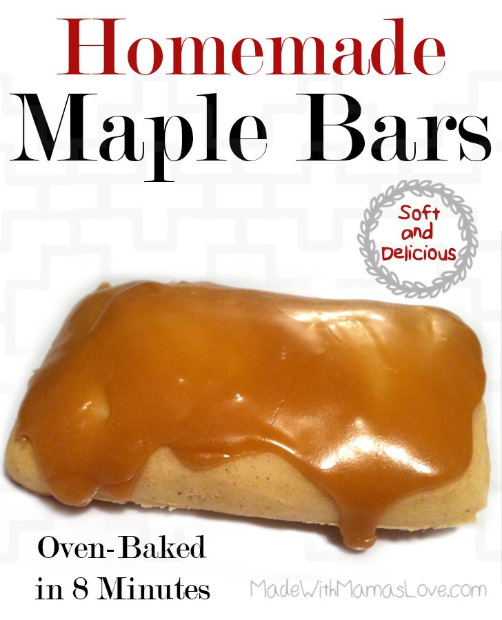 // // In my search for a good Maple Bar recipe, I came across this Oven-Baked Maple Bar Recipe from DJ's favorite recipes. I like this so much better than the traditional way of making them. They a...