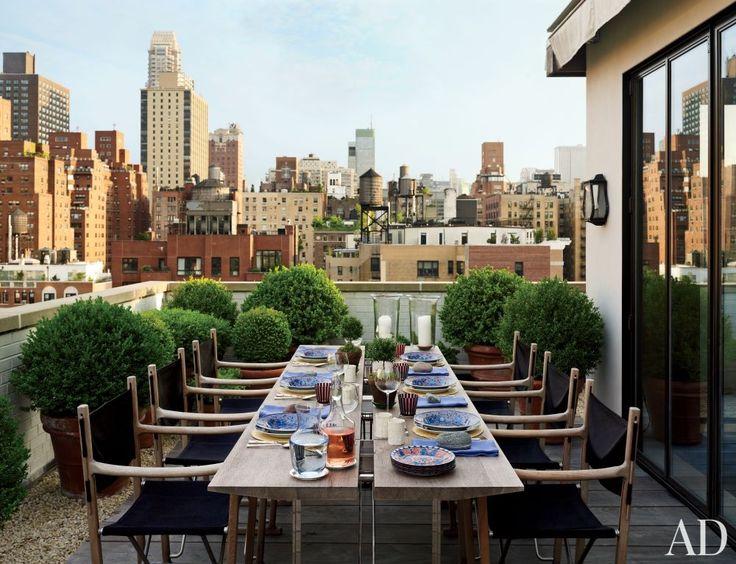 25 beste idee n over appartementsleven op pinterest appartementinrichting appartement terras - Decoratie jardin terras ...