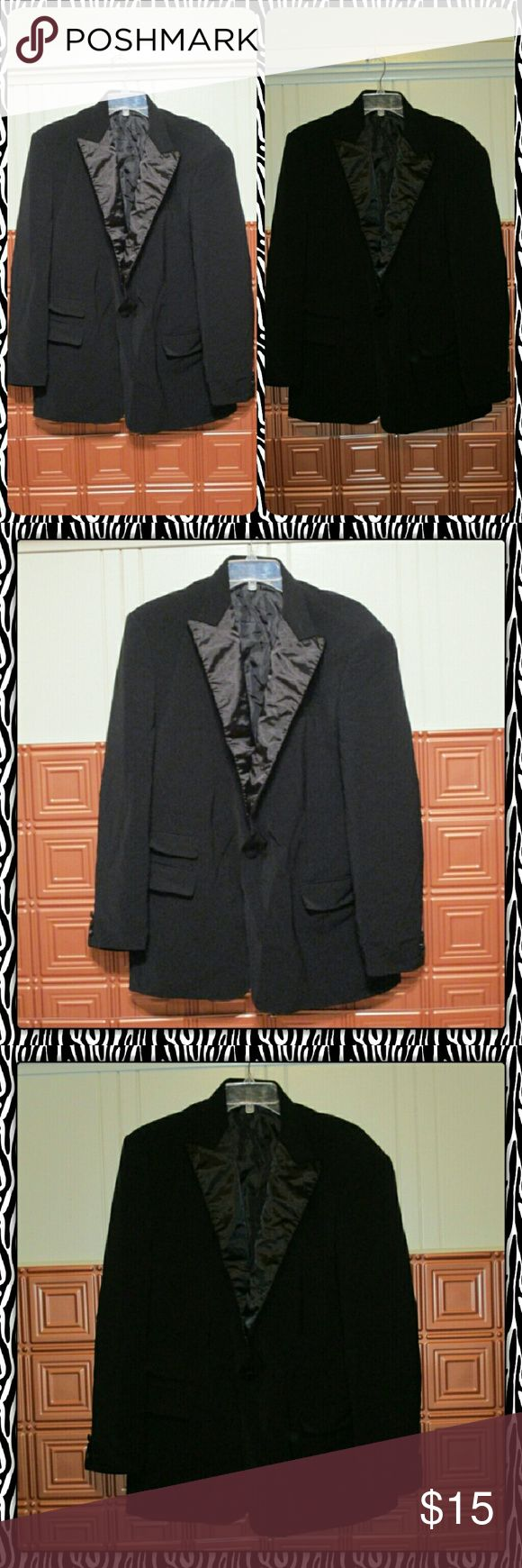 Mens tuxedo style jacket Used men's tuxedo style jacket. No rips tears or stains IL Canto Suits & Blazers Sport Coats & Blazers