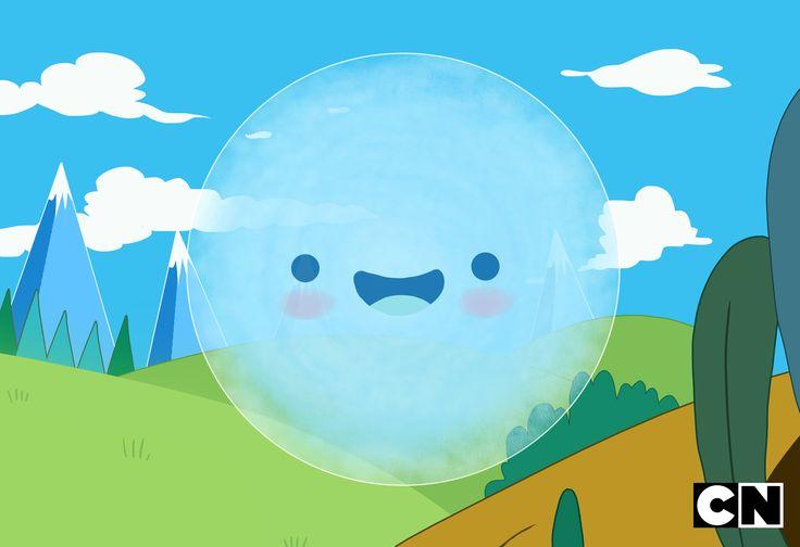 Day 28: Bubble #30dayschallenge  #Bubble from #AdventureTime episode 17 Season 5 - BMO LOST