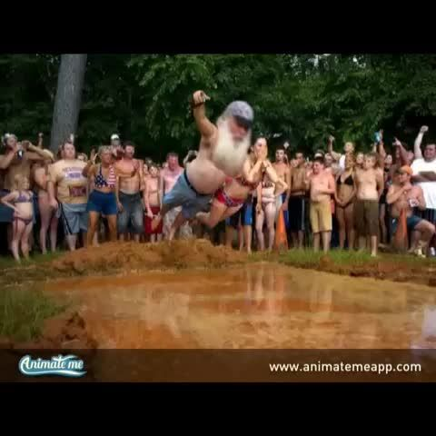 This is what you call a Redneck Cannonball! Made with the free Animate Me App for iPhone and iPad. http://www.animatemeapp.com