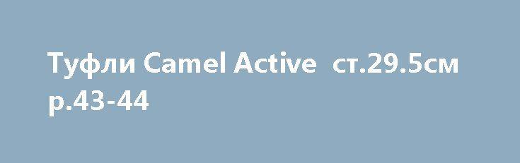Туфли Camel Active  ст.29.5см р.43-44 http://brandar.net/ru/a/ad/tufli-camel-active-st295sm-r43-44/  Туфли в хорошем состоянии, цена 300 из-за внутренней потертости пяточной части, в одном туфле(чуть - чуть), натуральная замша, стелька 29.5 на р.43-44, подкладка полуфлис, добротные