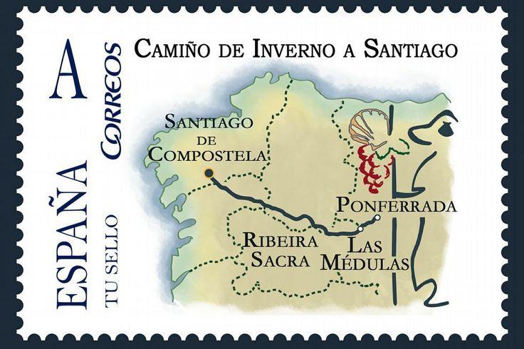 Un sello para el Camino de Invierno