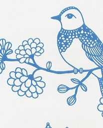 Tapet Sugar Tree Lovely Blue/Cream White från Majvillan