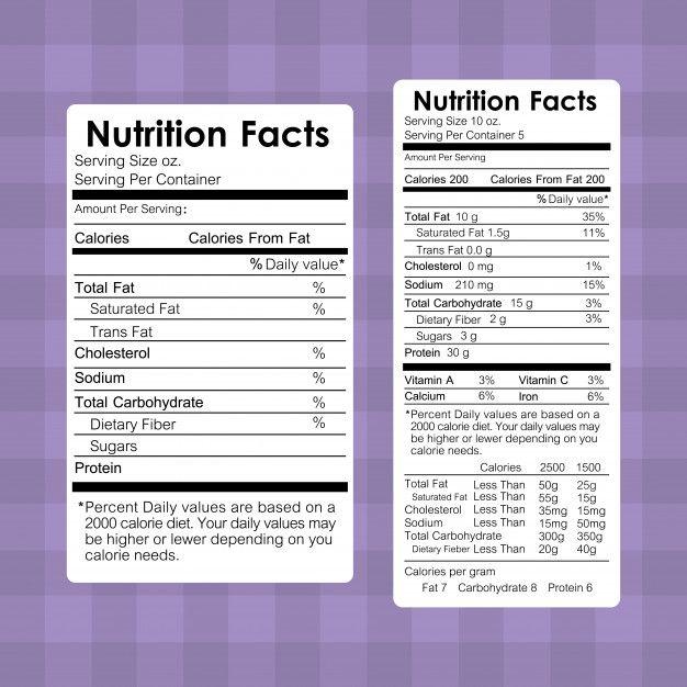 Download Nutrition Facts Food Labels Information For Free Nutrition Facts Design Nutrition Facts Label Nutrition Labels