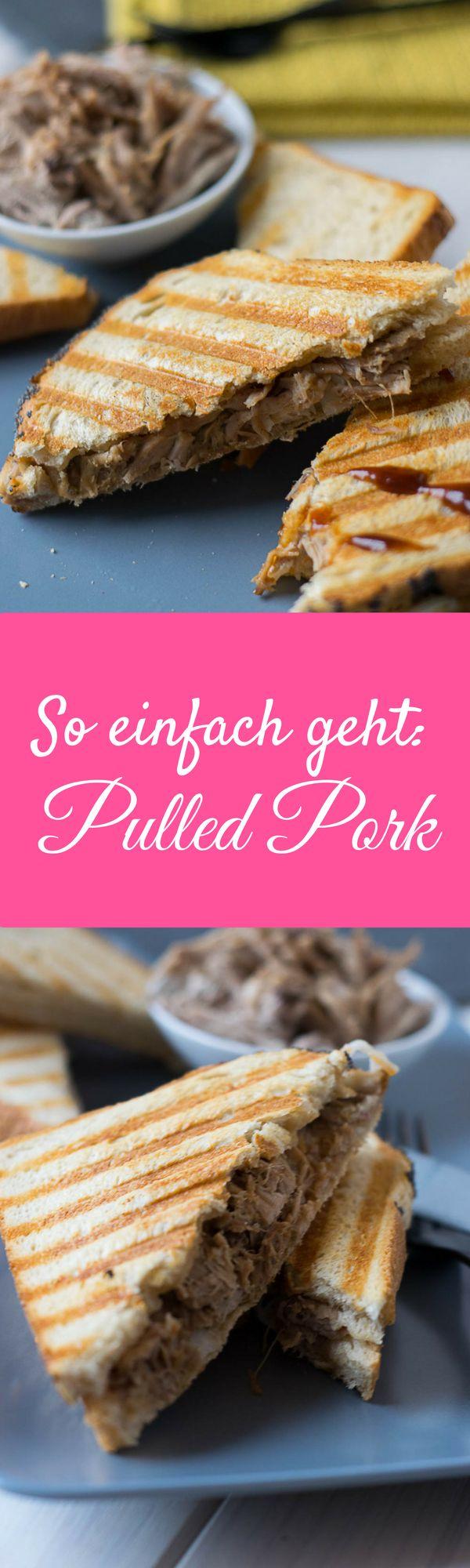 Pulled Pork Sandwich - USA Food