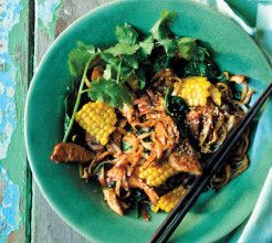 Asian Chicken and Sweetcorn Noodles #Chicken #Recipe #SouthAfrica