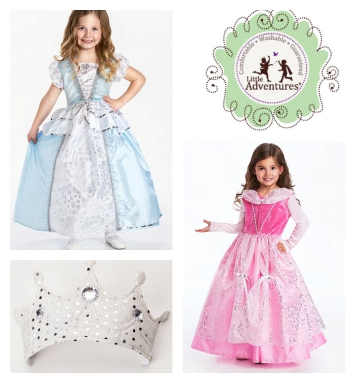 Little Adventures Deluxe Cinderella Costume: Washable & Comfortable Dress-Up Clothes? Hello, Little