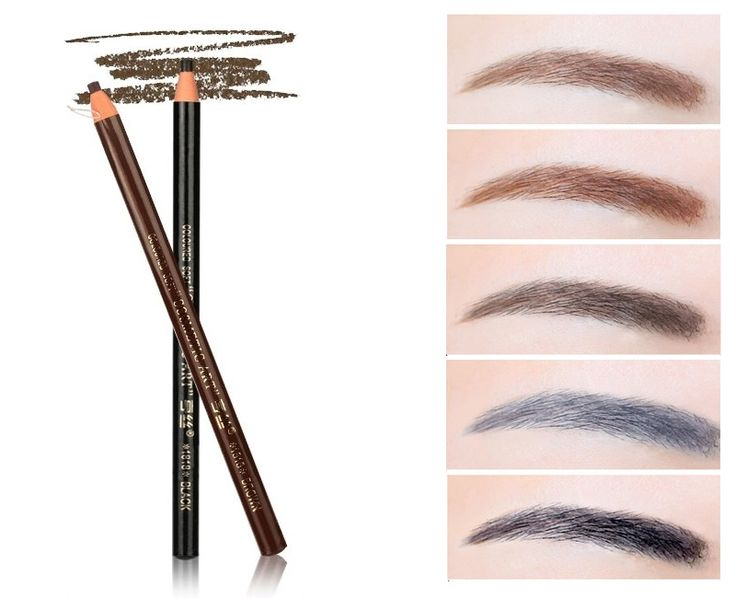 Free Shipping Pull eyebrow pencil / Pull pen / pencil / makeup lasting waterproof and sweat does not Makeup meltdown blooming