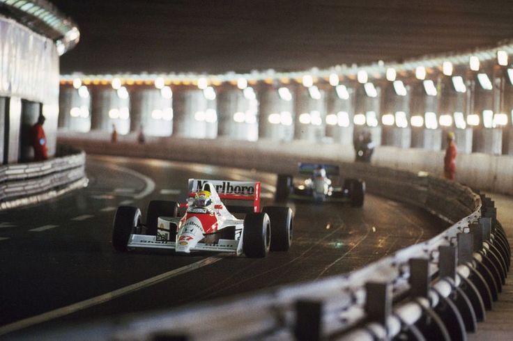#1 #ayrtonsenna Mónaco
