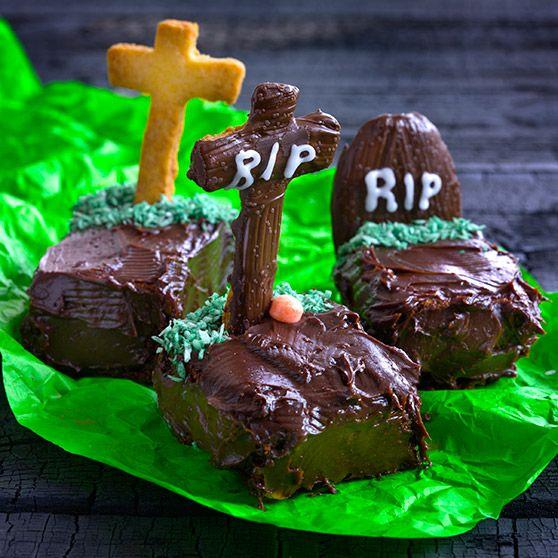Graver - http://www.dansukker.no/no/oppskrifter/graver-no.aspx #kake #oppskrift #halloween