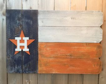 Personalized Houston Texans Outdoor Wooden by ARepurposedPurpose