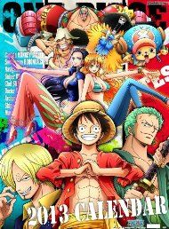 Japanese Anime Calendar 2013 ONE PIECE