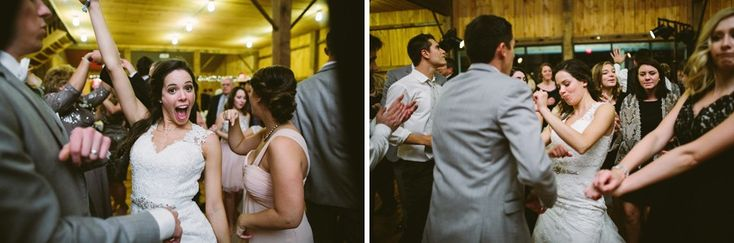 """The top live wedding band- City Heat, performed popular songs such as """"Cupid Shuffle"""", """"Cha Cha Slide,"""" and """"Teach Me How to Dougie"""". Lining up for a social train dance was one of the highlights of the night! // johnparkerbands.com"""