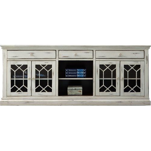 80 Inch Distressed White Tv Stand Prisma White Tv Stands